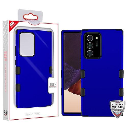 Titanium Dark Blue/Black TUFF Hybrid Phone Protector Cover [Military-Grade Certi
