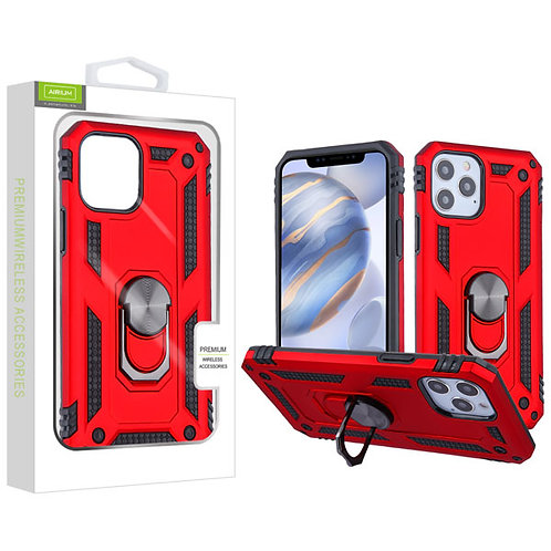 Airium Anti-Drop Hybrid Protector Case (with Ring Stand) for Apple iPhone 12 (6.