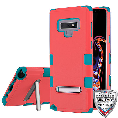 Samsung Note9 Natural Baby Red_Tropical Teal TUFF Hybrid Protector Cover