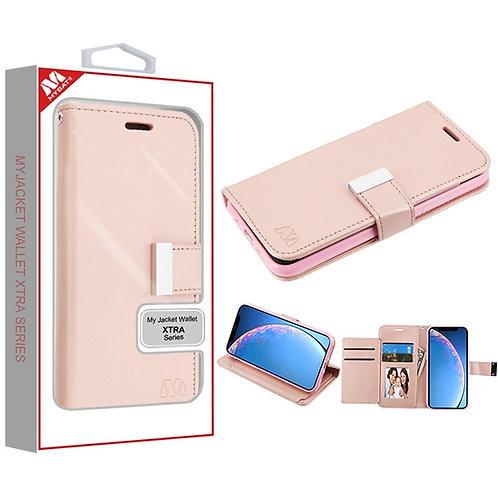 APPLE iPhone 11 - Mybat Rose Gold MyJacket Wallet Xtra Series (GE035) -WP
