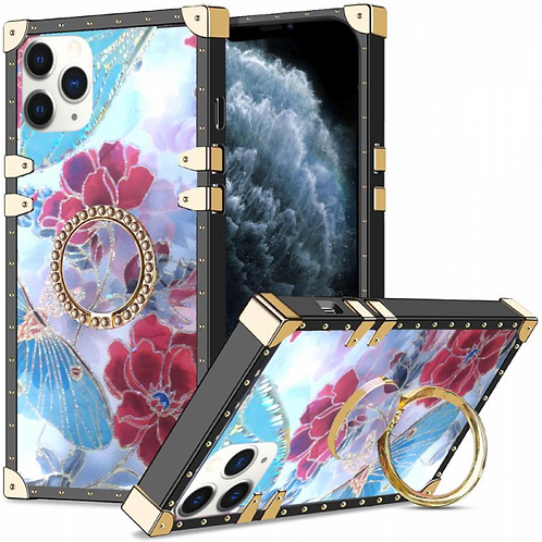 iphone 11 pro Max-VINTAGE OPULENCE - (13) FLORAL DRAGONFLY