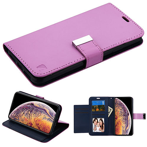 AIPHONEXSPLUSMYJKGE034WP_Purple_Dark Blue MyJacket Wallet Xtra Series (GE034) -W