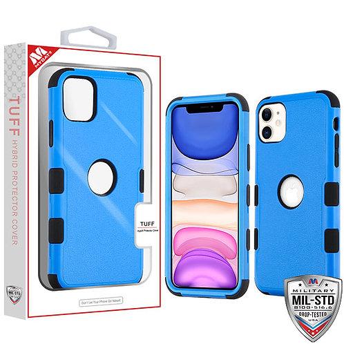 APPLE iPhone 11 - Mybat Natural Dark Blue_Black TUFF Hybrid Phone Protector Cove