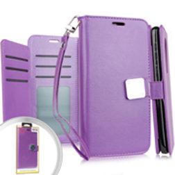DW-IPXR-10iPhone XR 6.1 Deluxe Wallet w Blister Purple