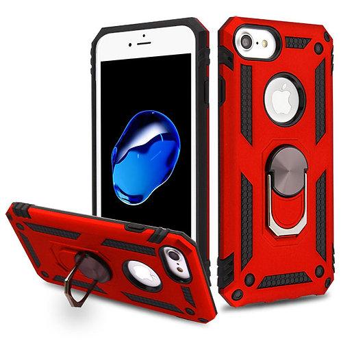 Iphone 7/8 Red/Black Anti-Drop Hybrid