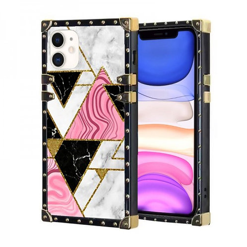 iphone 11-VINTAGE OPULENCE - PINK TRIANGLE