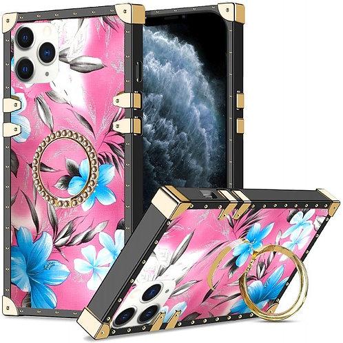 iphone 12-12pro-VINTAGE OPULENCE - BLUE LILY PINK SKY