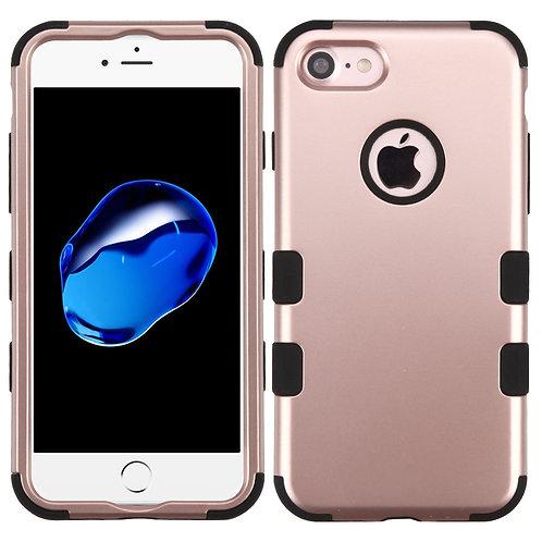 Iphone 7/8 Rose Gold/Black TUFF Hybrid