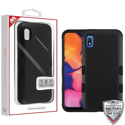 Samsung Galaxy A10E Titanium Red/Black TUFF Hybrid Phone Protector Cover