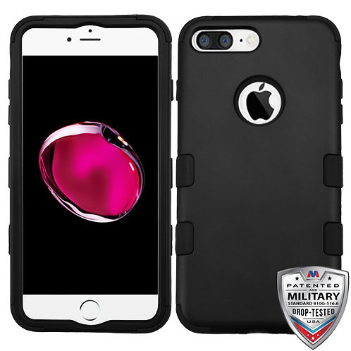 Iphone 7/8 Plus Rubberized Black TUFF Hybrid