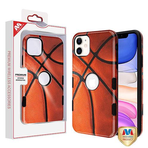 APPLE iPhone 11 - Mybat Basketball-Sports Collection_Black TUFF Subs Hybrid Case