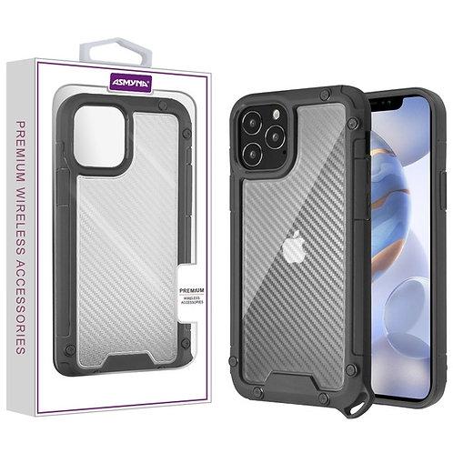 Asmyna Hybrid Case for Apple iPhone 12 (6.1)  iPhone 12 Pro (6.1) - Transparent