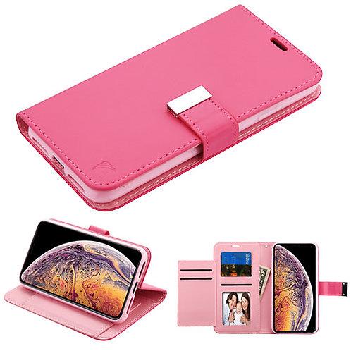 AIPHONEXSPLUSMYJKGE033WP_Hot Pink_Pink MyJacket Wallet Xtra Series (GE033) -WP