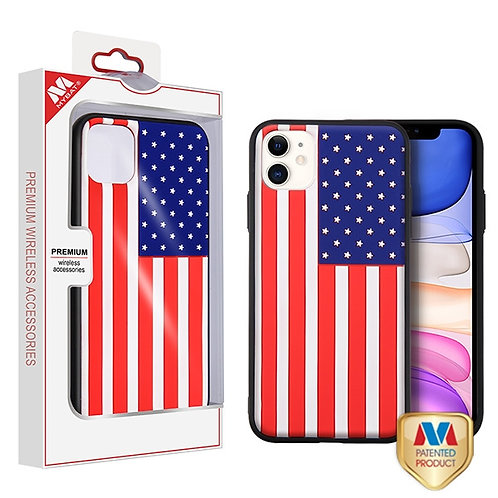 iphone 11 United States National Flag 3D Fusion Protector Cover
