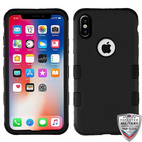 Iphone X/XS Rubberized Black (Tuff Hybrid)