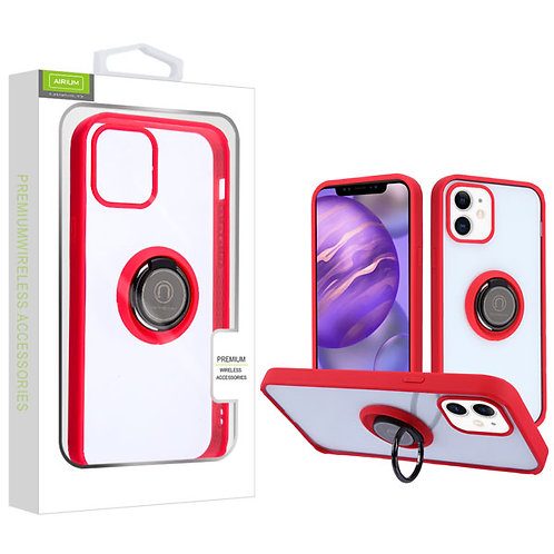 Airium Hybrid Case (with Ring Stand) for Apple iPhone 12 mini (5.4) - Transparen