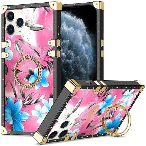 iphone 11 pro Max-VINTAGE OPULENCE - BLUE LILY PINK SKY