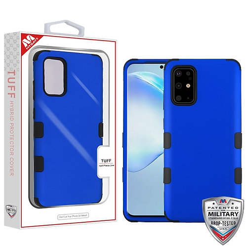 SAMSUNG Galaxy S20 PLUS (6.7) - Mybat Titanium Dark Blue-Black TUFF Hybrid Phone