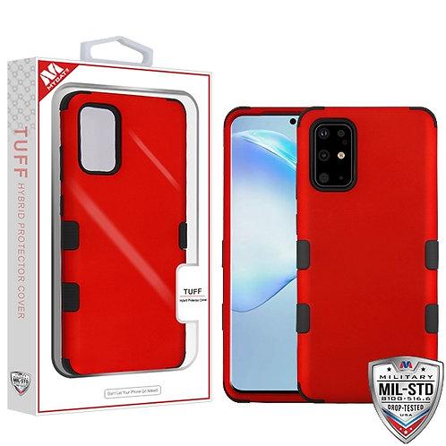 SAMSUNG Galaxy S20 PLUS (6.7) - Mybat Titanium Red-Black TUFF Hybrid Phone Prote