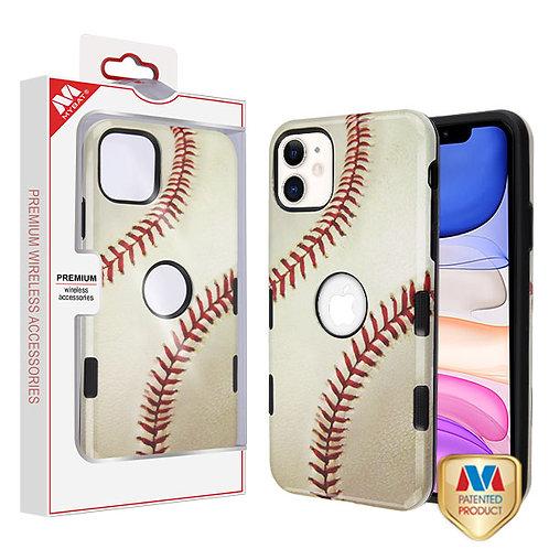 APPLE iPhone 11 - Mybat Baseball-Sports Collection_Black TUFF Subs Hybrid Case