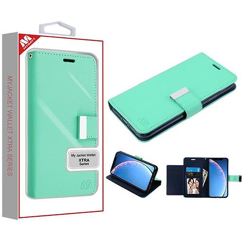 IP11RMYJKGE038_Teal Green_Dark Blue MyJacket Wallet Xtra Series (GE038) -WP