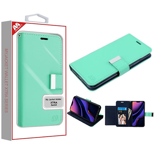 Iphone11 Pro Max_Teal Green_Dark Blue MyJacket Wallet Xtra Series