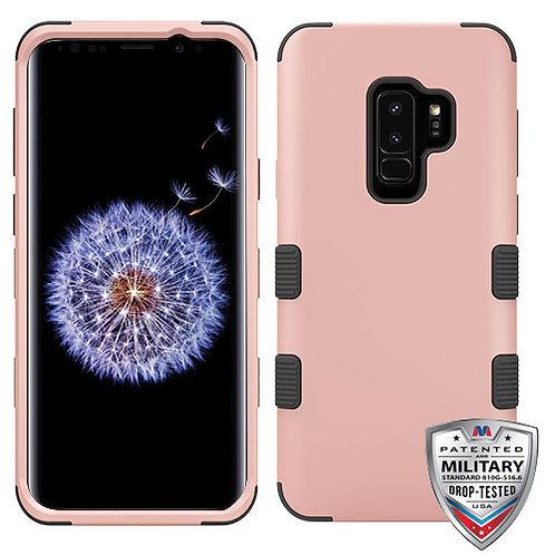 Samsung S9 Plus Rose Gold_Black TUFF Hybrid Phone Protector Cover