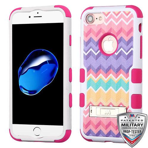 Iphone 7/8 Camo Wave/Hot Pink TUFF Hybrid