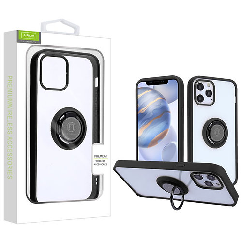 Airium Hybrid Case (with Ring Stand) for Apple iPhone 12 (6.1) iPhone 12 Pro (6.