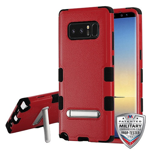 Samsung Galaxy Note8 Natural Red_Black TUFF Hybrid Protector Cover