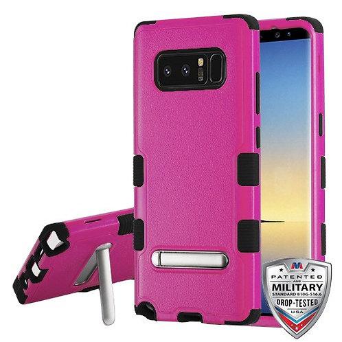 Samsung Galaxy Note8 Natural Hot Pink_Black TUFF Hybrid Phone Protector Cover