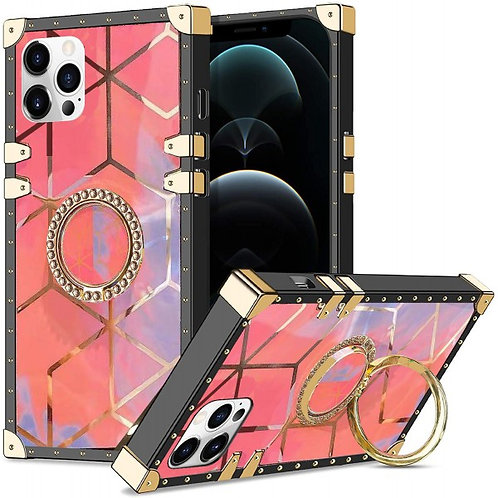 iphone 12-VINTAGE OPULENCE - PINK GEO OMBRE