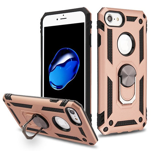 Iphone 7/8 Rose Gold/Black Anti-Drop Hybrid