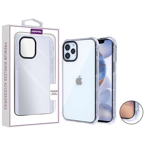 Asmyna Corner Guard Candy Skin Cover for Apple iPhone 12 (6.1)  iPhone 12 Pro (6