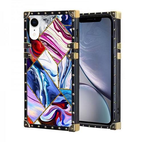 iphone 7-8-SE-VINTAGE OPULENCE - PINK-PURPLE MARBLE GEO