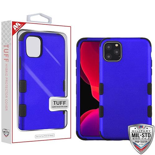 Iphone11 Pro_Titanium Dark Blue_Black TUFF Hybrid Protector Cover