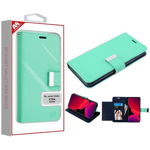 Iphone11 Pro_Teal Green_Dark Blue MyJacket Wallet Xtra Series