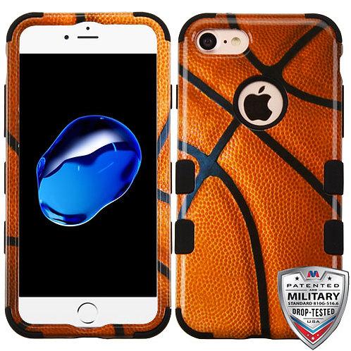 Iphone 7/8 Basketball/Black TUFF Hybrid