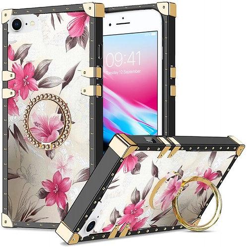 iphone 7-8-SE-VINTAGE OPULENCE - PINK LILY WHITE SKY
