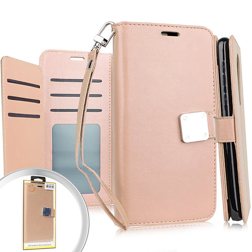 Samsung S20 ULTRA 6.9 Deluxe Wallet w/ Blister Rose Gold