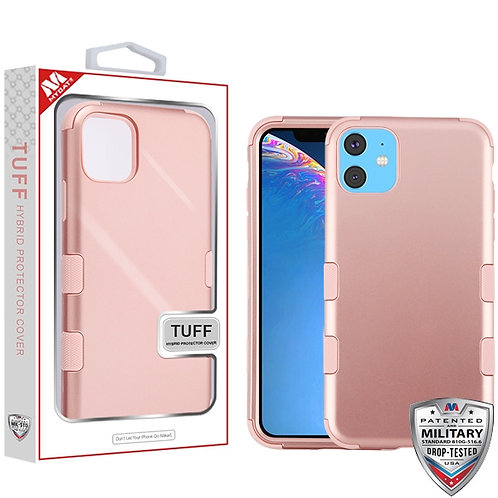 IP11RHPCTUFFSO086_Rose Gold_Rose Gold TUFF Hybrid Phone Protector Cover