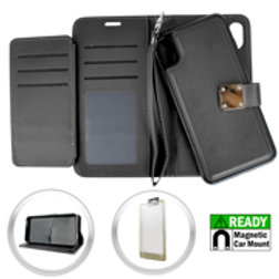 MDW-IPXR-01iPhone XR 6.1 Magnetic Wallet w Blister Black