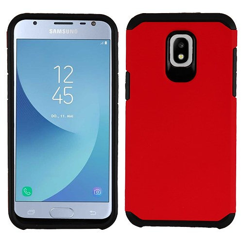 Samsung Galaxy J3(2018) Red_Black Astronoot Phone Protector Cover
