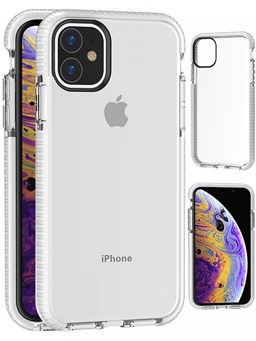 Transparent TPU Case Shockproof Drop Resistant Case Cover for iPhone 11 (6.1)