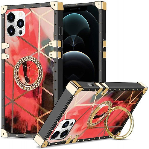 iphone 12 pro Max-VINTAGE OPULENCE - RED GEO OMBRE