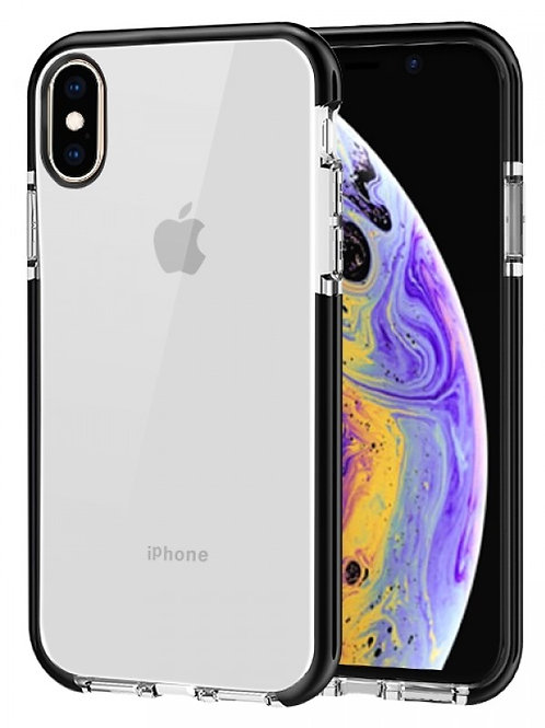 Transparent TPU Case Shockproof Drop Resistant Case for Xs Max (6.5)