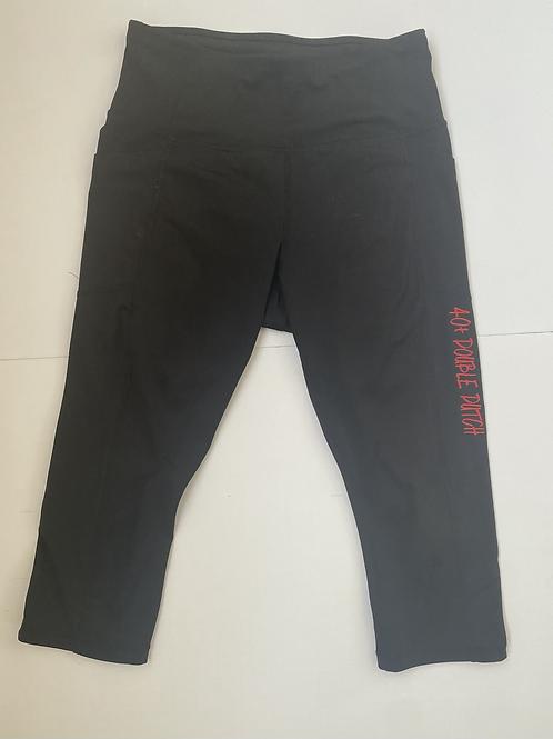 40+ Black Capri Leggings