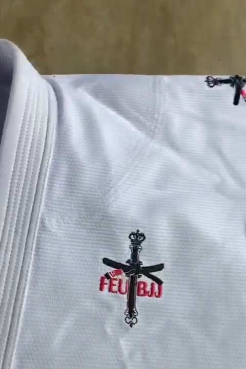 Kimono Equipe FEU BJJ  Oficial - VOUK
