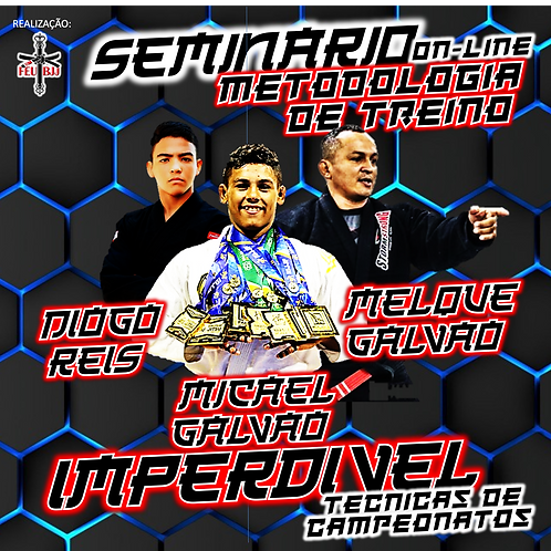 ASSISTA ON-LINE SEMINÁRIO DO MICAEL GALVÃO NO FEU BJJ