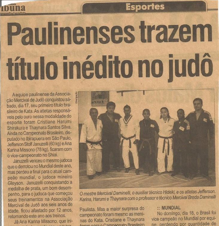 Jornal_título_inédito_vice campeão de sh